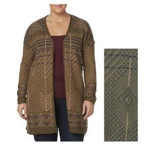 Simply Emma Womens Plus Cardigan size 1X 2X NEW